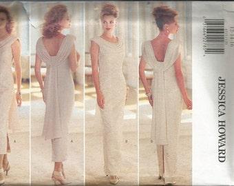 Butterick 4315 Jessica Howard Evening Dress Pattern SZ 12-16