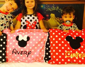 Personalized Mouse Autograph Pillowcases