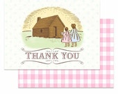 Little House on the Prairie Thank You Notes, by Loralee Lewis