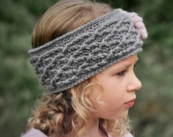 Crochet Headband Pattern, Crochet Pattern, The Carys Cabled Headband Pattern, Crochet Pattern, Crochet Earwarmer Pattern, Pattern, Crochet