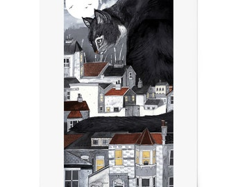 This Way Home | Limited Edition of 100 | Signed A3 archival Giclee' Print