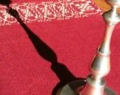 Hand Woven Table Runner, Buffet Runner, Red And Gold, Dresser Runner, Christmas Decor, Dresser Scarf, Handwoven Traditional Runner