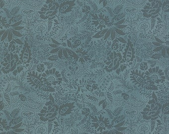Color Daze - Forget Me Not in Blue Grass by Laundry Basket Quilts for Moda Fabrics - Last Yard