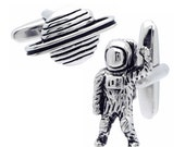 Astronaut & Planet Cufflinks