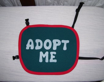 Dog Adopt Me Vest SMALL