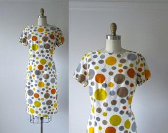 vintage 1960s dress / 60s dress / Double Bubble