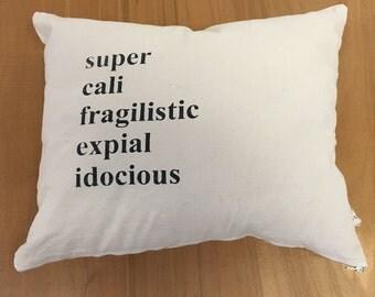 Handmade Mary Poppins  Pillow