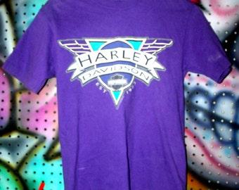 Summer Spring  Sale Harley Davidson T Shirt Vintage 90's 1990's Nineties Men Medium M Fordyce