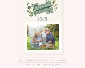 A Year in Review Card 1 (INSTANT DOWNLOAD)