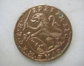 1732 Scotland - United Kingdom, Great Britain Copper Coin Token