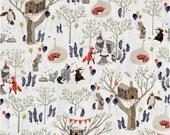 Foxtail Forest Minky Blanket