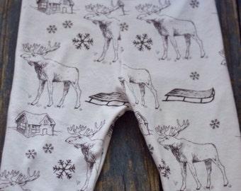 Christmas kids Pajamas, Organic Baby Leggings, winter leggings, baby leggings, Christmas, baby pants, baby legging Christmas Trees