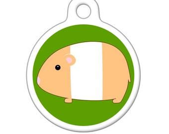 Pet ID Tag - Hamster Pet Tag, Dog Tag, Cat Tag