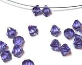 Swarovski Crystal Top Drilled Beads 6301 6mm (12)