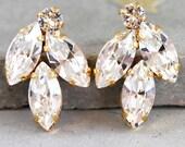 Bridal Crystal Earrings,Swarovski Bridal Crystal Earrings,Bridal Cluster Earrings,Bridesmaids Earrings,Crystal Bridal Earrings,Crystal Studs