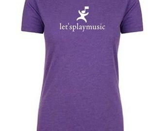 6610 Teacher cotton poly shirt Letsplaymusic