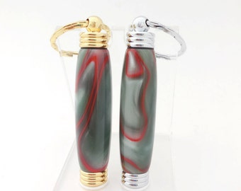 Keychain Secret Compartment, Toothpick Holder
