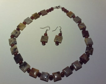 Brown and Marbled set