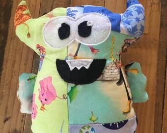 "Plush Monster ""Cupcake Head"""