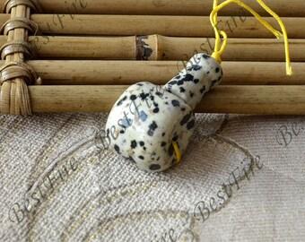 Natural Stone Three Hole Bead Set,Guru Beads,Beads for Malas,Prayer Beads,smooth Three holes, Column Bead, One Set