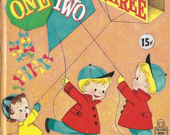 Vintage Mid Century Children's Book - One, Two, Three By Charlie