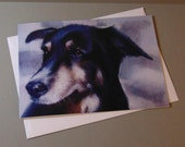 Fudge the Dog art card by...
