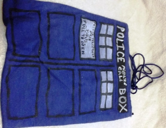 Doctor Who Tardis Purse