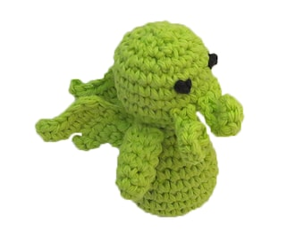 Small Catnip Cthulhu Cat Toy