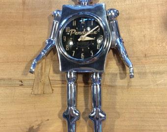 Large Mr. Robot Desk Clock