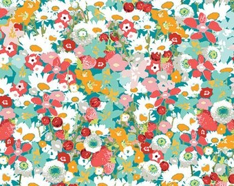 Flowered Medley  LAH-26806 - LAVISH -  Katarina Roccella for Art Gallery Fabrics - By the Yard