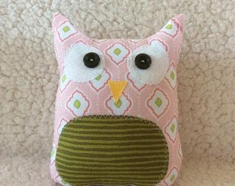 Ollie the owlet - stuffed owl