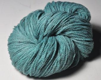 Dust covered turquoise - Merino/Alpaca/Yak DK Yarn - Winter Edition
