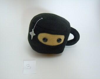 Ninja Teacup Plush