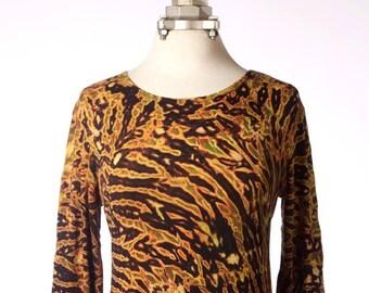 M Shibori Long Sleeve T-Shirt  Tiger2