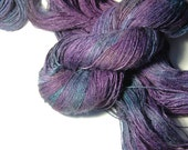 CHOCHO Tussah Silk Lace in The Mysterious Little Violet
