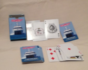 Playing Cards Key West Express Paper Ephemera Collectibles Games Crafts  All Everything Else