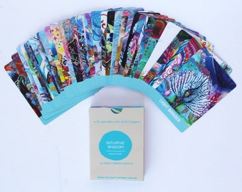 Intuitive Wisdom Artist Oracle Cards - Latest Edition