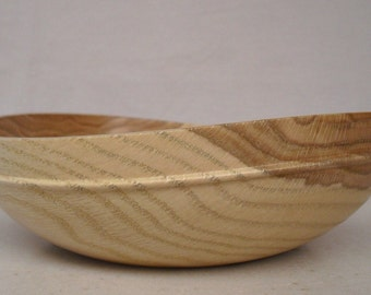 Warped Oak Bowl