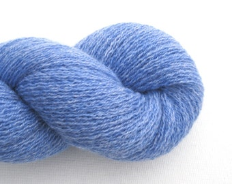 Lace Weight Cashmere Recycled Yarn, Light Blue, Lot 130116
