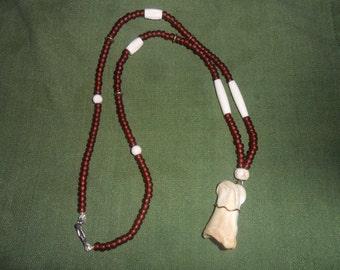 Deer Bone Totem Necklace