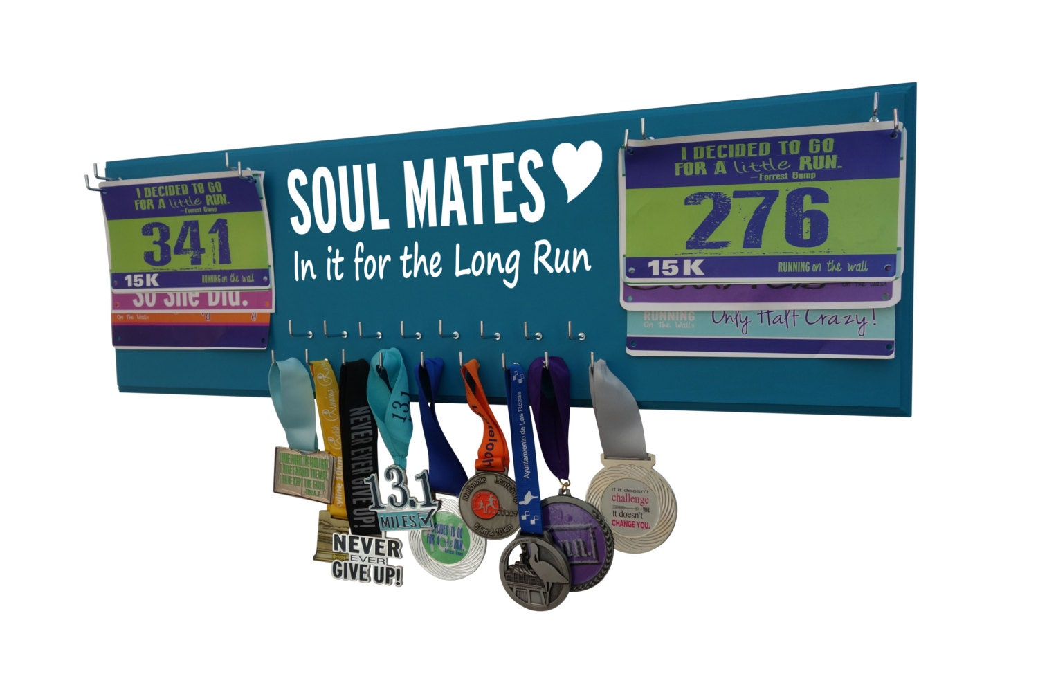 Wedding Gifts For Runners : Wedding running wedding gift race bib holder Sweating for