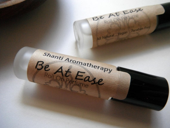 Be At Ease Aromatherapy Roll-on- Natural Perfume