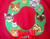 Merry Catsmas Ugly Christmas Sweater ( Sweatshirt Edition )