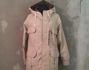 60% OFF Vintage 1970s REI CO-Op Khaki Jacket Seattle S/M (d)