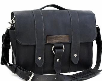 """15"""" Black Sierra Jorneyman Laptop Bag - 15-J-BL-LAP"""