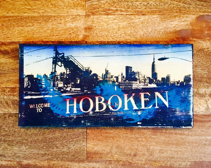 Hoboken collage