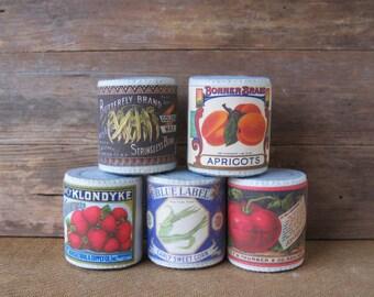 NEW Felt Food Cans