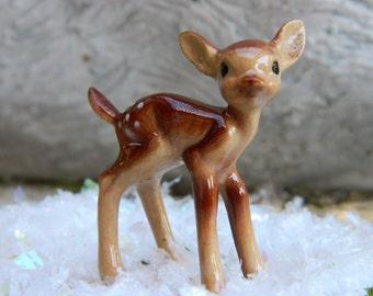 Fairy Garden Miniature Deer-Miniature Doe-Miniature Fawn-Fairy garden Accessory-Christmas Miniature-fairy garden SuppliesWoodland garden