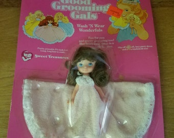 Vintage 1982 Kidco Good Grooming Gals Doll - Washable  Wonderfuls - Sealed