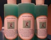 Ancient Blends RE-AWAKEN Lemon/Mint Cleansing Shampoo
